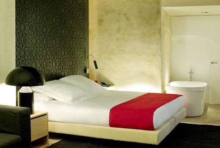 habitación con baño EME fusión