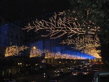Iluminación de navidad en Madrid