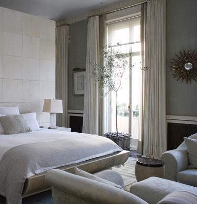 Dormitorio decorado por Michael Smith