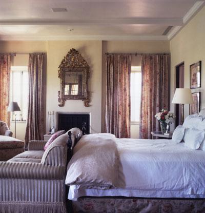 Habitación decorada por Michael Smith