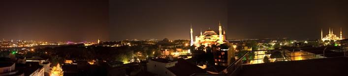 Vista panorámica de Estambul