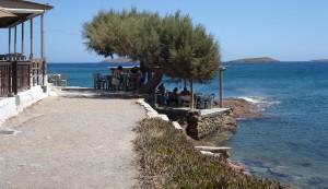 Vistas del mar en Creta