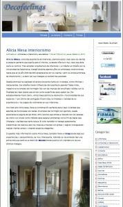 Decofeelings Alicia Mesa