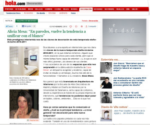 Entrevista Hola.com