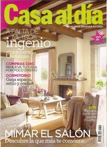 Reportaje revista Casa al Día