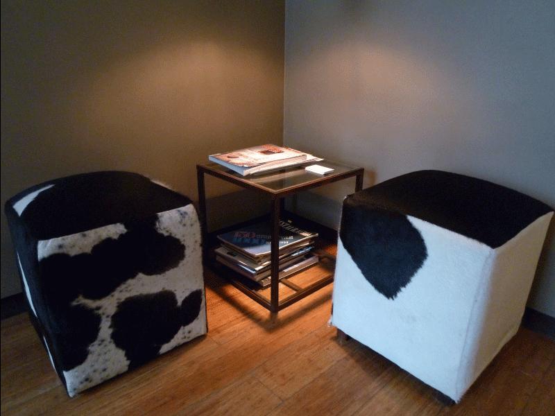 Mesa auxiliar de rincón