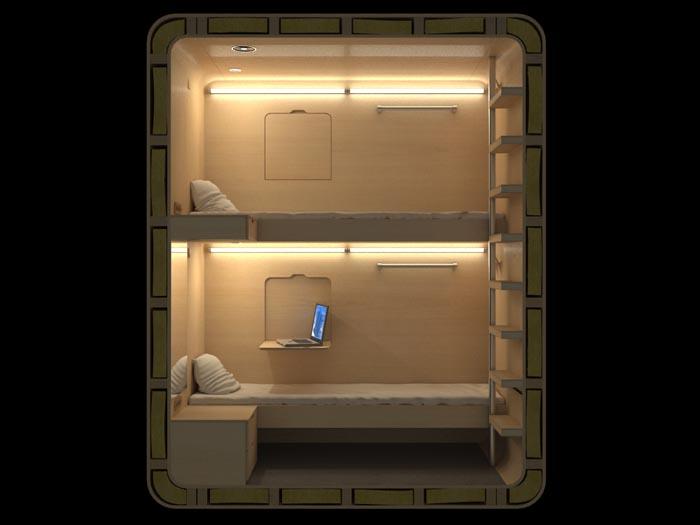 sleep-box-interior