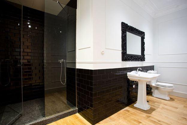 Reforma baño en un piso clásico de Madrid