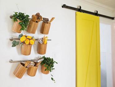 Decoración cocina en amarillo