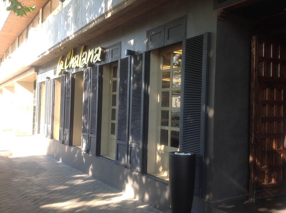 Reforma del restaurante La Chalana