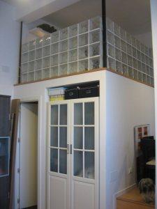 Armario integrado en el salón