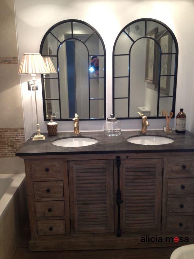Idea reforma baño estilo clásico