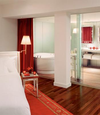 Habitación con baño Hotel Faena